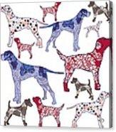 Top Dogs Acrylic Print