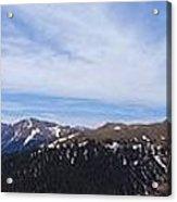 Top Of Independence Pass Panorama Acrylic Print