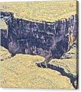 Above The Canyon Top   Acrylic Print