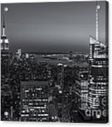 Top Of The Rock Twilight V Acrylic Print