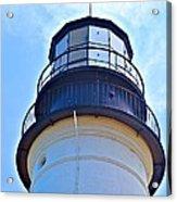 Top View Of Portland Head Light Acrylic Print