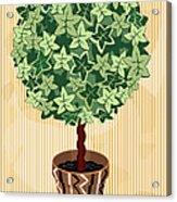 Topiary Tree Acrylic Print