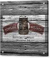 Toppling Goliath Acrylic Print