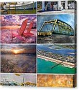 Topsail Glory Acrylic Print