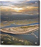 Topsail Island Paradise Acrylic Print