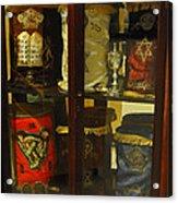 Torah Scrolls Acrylic Print