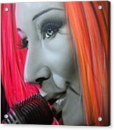 Tori Amos Acrylic Print