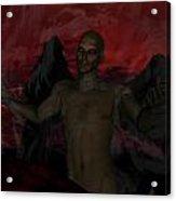 Torment Acrylic Print by Jean Gugliuzza