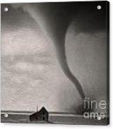 Tornado Acrylic Print by Gregory Dyer