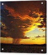 Tornado Of Fire Acrylic Print