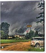 Tornado Over Madison 3 Acrylic Print