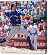 Toronto Blue Jays V Texas Rangers Acrylic Print