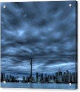 Toronto Blue Acrylic Print