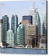 Toronto Downtown Acrylic Print