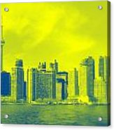 Toronto Downtown View Acrylic Print