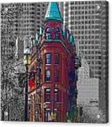 Toronto Flat Iron Building Version 2 Acrylic Print
