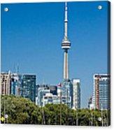 Toronto Harbour Acrylic Print
