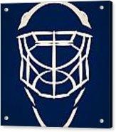 Toronto Maple Leafs Goalie Mask Acrylic Print