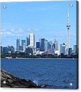 Toronto Ontario Canada Skyline Acrylic Print
