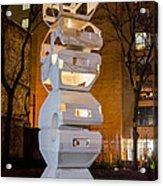 Toronto Sculpture Garden  7d01024 Acrylic Print