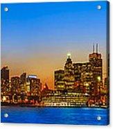 Toronto Skyline Panorama Acrylic Print