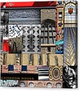 Toronto Textures 1 Acrylic Print