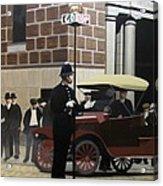 Toronto Traffic Cop 1912 Acrylic Print