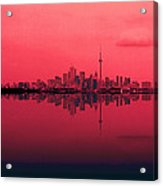 Toronto With A Twist Acrylic Print