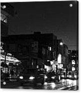 Toronto's China Town After Sunset Acrylic Print