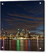 Toronto's Dazzling Skyline  Acrylic Print