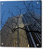 Toronto's Golden Bank - Royal Bank Plaza Downtown Acrylic Print