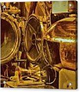 Torpedo Chamber Uss Bowfin Acrylic Print