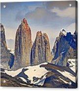 Torres Del Paine Acrylic Print