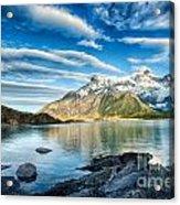 Torres Del Paine Park Acrylic Print