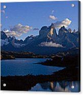 Torres Del Paine, Patagonia, Chile Acrylic Print