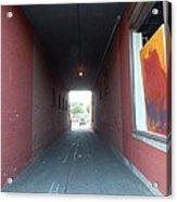 Torrington Passageway 1 Acrylic Print