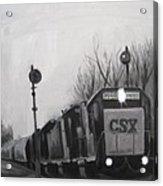 Torrit Train Acrylic Print