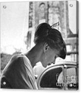 Torun Bulow-hube In Antibes 1962 Acrylic Print