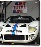 Total Ford Gt 40 Acrylic Print