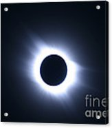 Total Solar Eclipse Acrylic Print by Stephen & Donna O'Meara