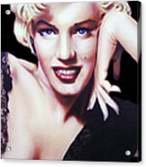 Totally Marilyn Acrylic Print