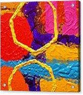 Totem Iv Acrylic Print by John  Nolan