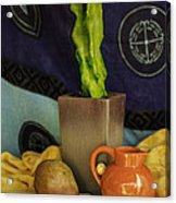 Totem Pole Cacti 2 Acrylic Print