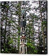 Totem Pole Of Southeast Alaska Acrylic Print