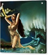 Touch Of The Beautiful Temptress Acrylic Print