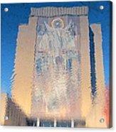 Touchdown Jesus Acrylic Print