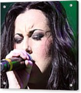 Touching Vocals Acrylic Print