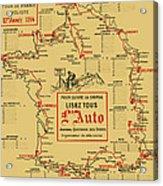 Tour De France 1914 Acrylic Print