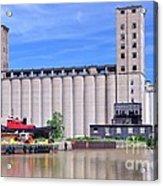 Tour Down Buffalo River Acrylic Print