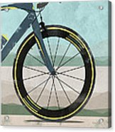 Tour Down Under Bike Race Acrylic Print by Andy Scullion